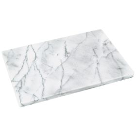 Judge Polished White Marble Board 30 x 20cm 741606