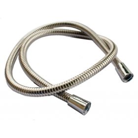 """Oracstar Shower Hose Large Bore - Stainless Steel 1.25m x 1/2"""" x 1/2"""" 11mm I.D. 126660"""