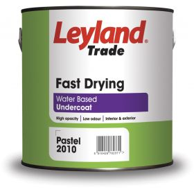 Leyland Trade Fast Drying Undercoat 2.5L Brilliant White 318238