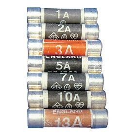 Dencon 13 Amp Fuse to BS1362 Display Carded 505602
