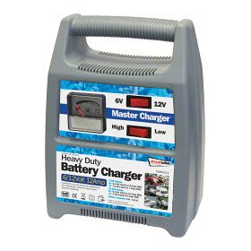 Streetwize Battery Charger - Plastic Cased 6/12V 12 Amp 151110
