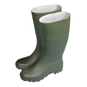 Town & Country Essentials Full Length Wellington Boots - Green UK Size 6 - Euro Size 39 436613
